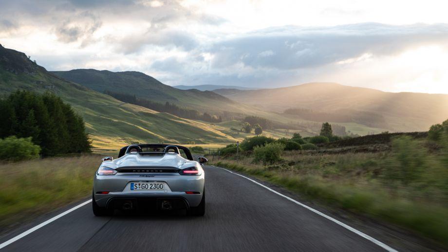 Porsche 718 Spyder Spoiler