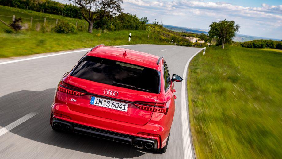 Audi S6 Avant Heck