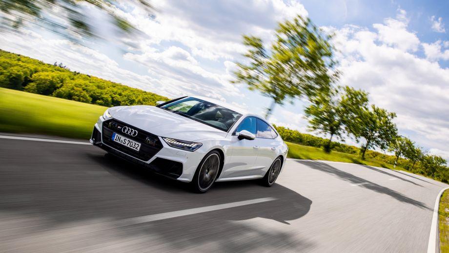 Audi S7 Sportback weiss