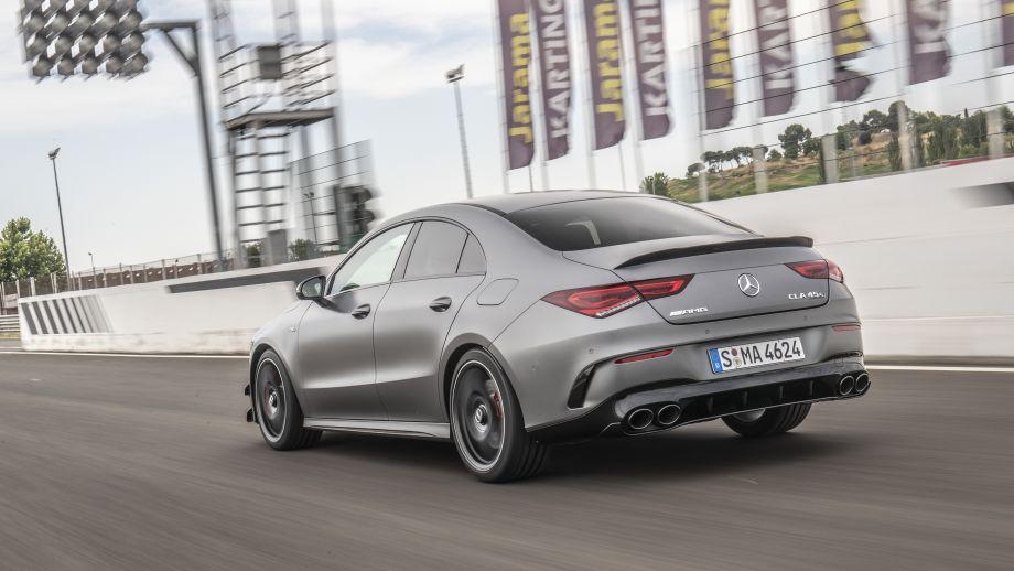 Mercedes-AMG CLA 45 4MATIC+ Heck