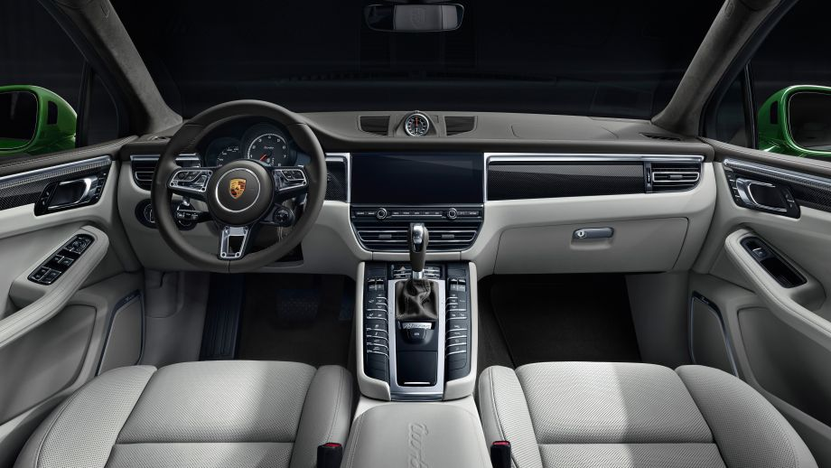 Porsche Macan Turbo Interieur