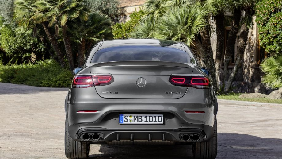Mercedes-AMG GLC 43 4MATIC Coupé Heck