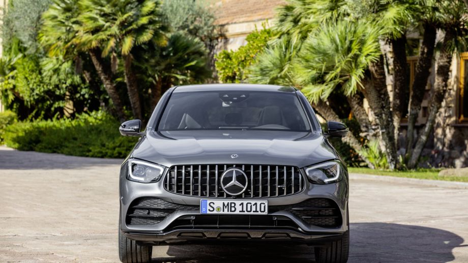 Mercedes-AMG GLC 43 4MATIC Coupé Panamericana Grill