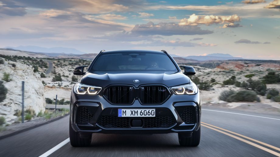 BMW X6 M Competition Nieren