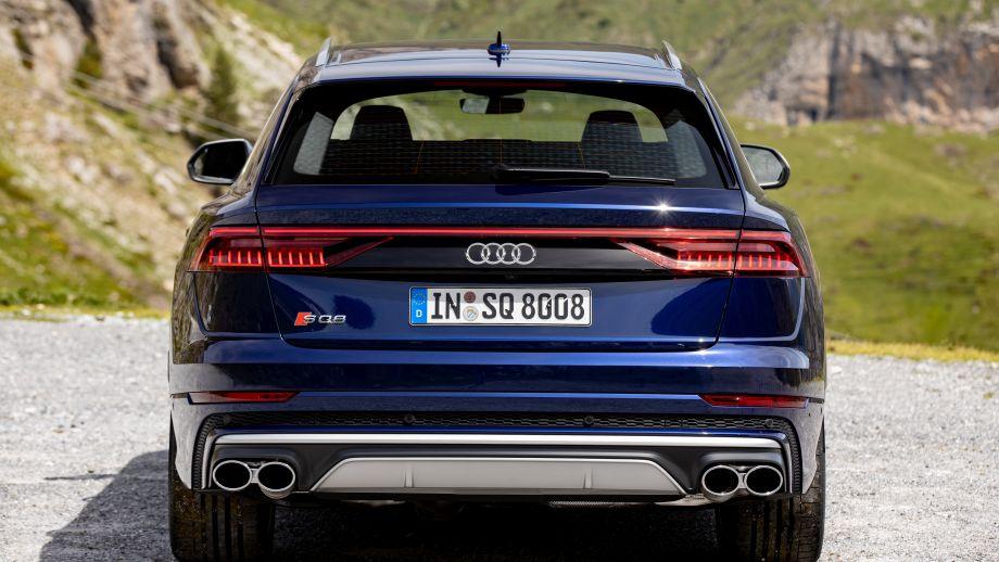 Audi SQ8 Auspuff