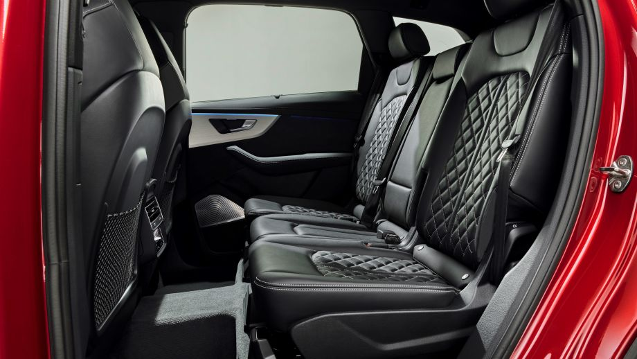 Audi Q7 Facelift Rücksitze