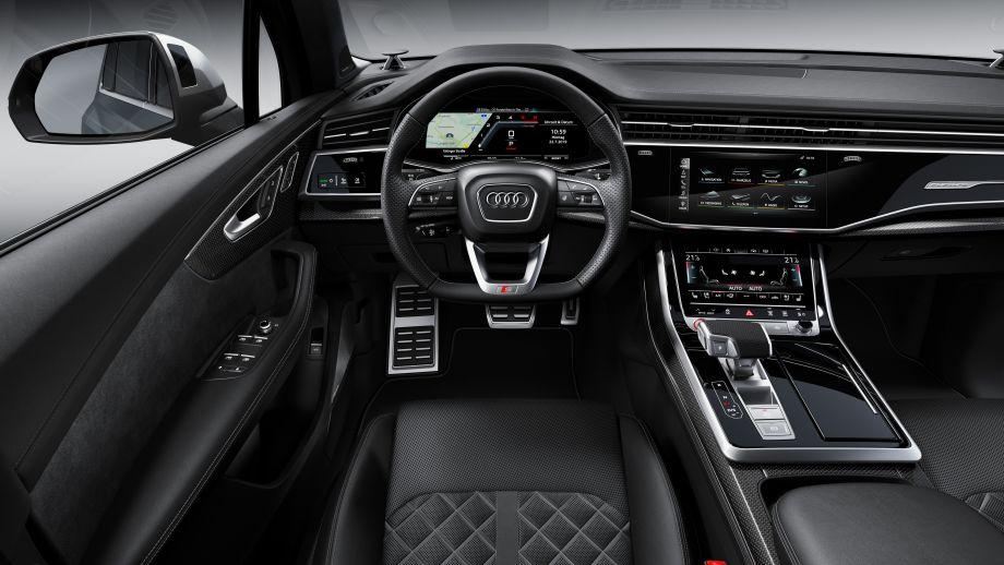 Audi Q7 Facelift Interieur
