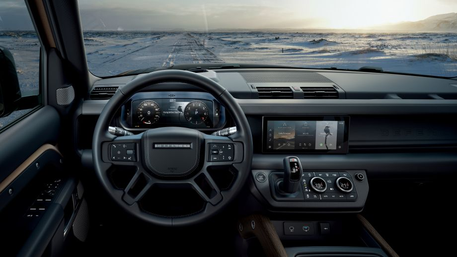 Land Rover New Defender Interieur