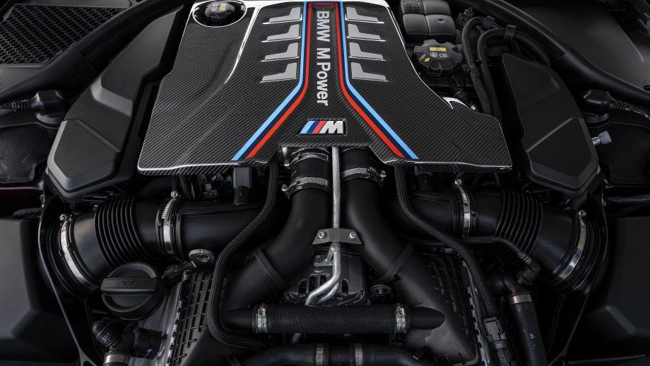BMW M8 Gran Coupé Motor
