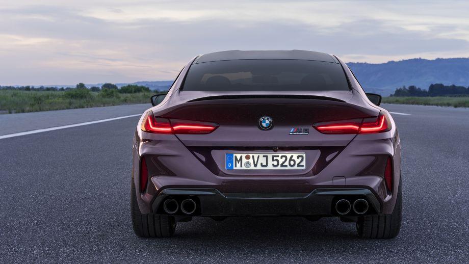 BMW M8 Gran Coupé Heck