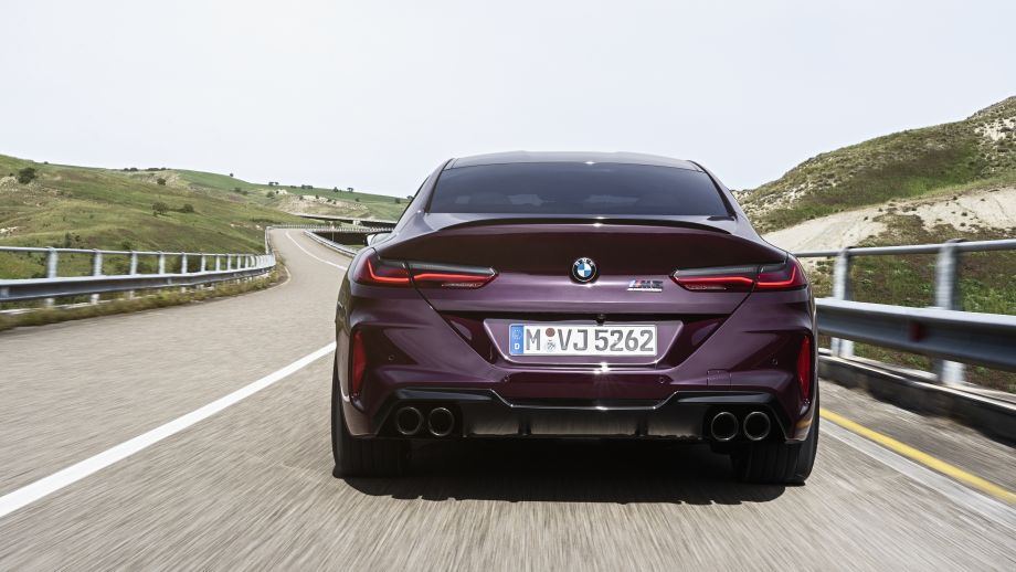 BMW M8 Gran Coupé Auspuff