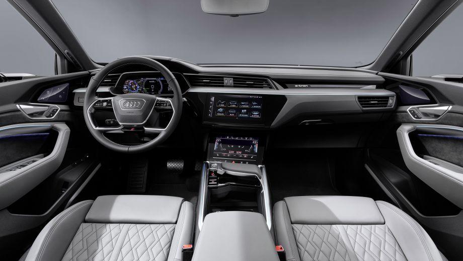 Audi e-tron Cockpit, Interieur