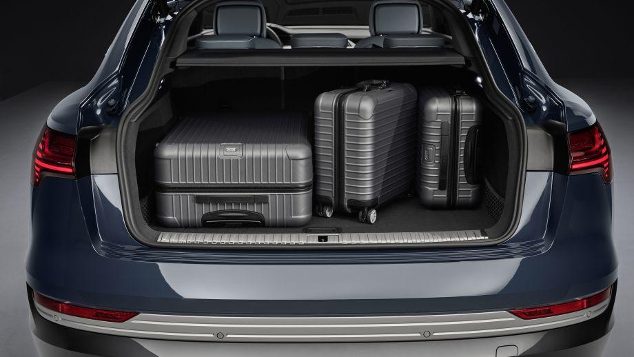 Audi e-tron, Kofferraum, Gepäck