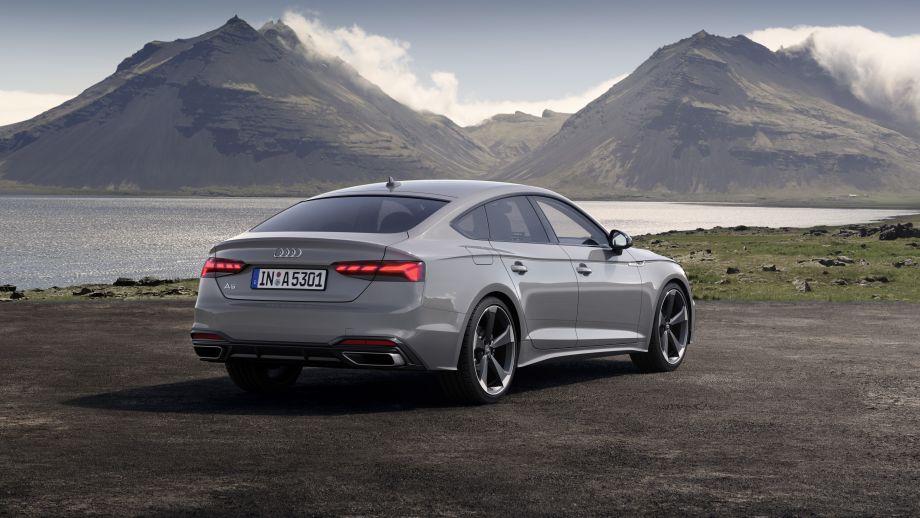 Audi A5 Sportback Auspuff, Rückleuchten, LED