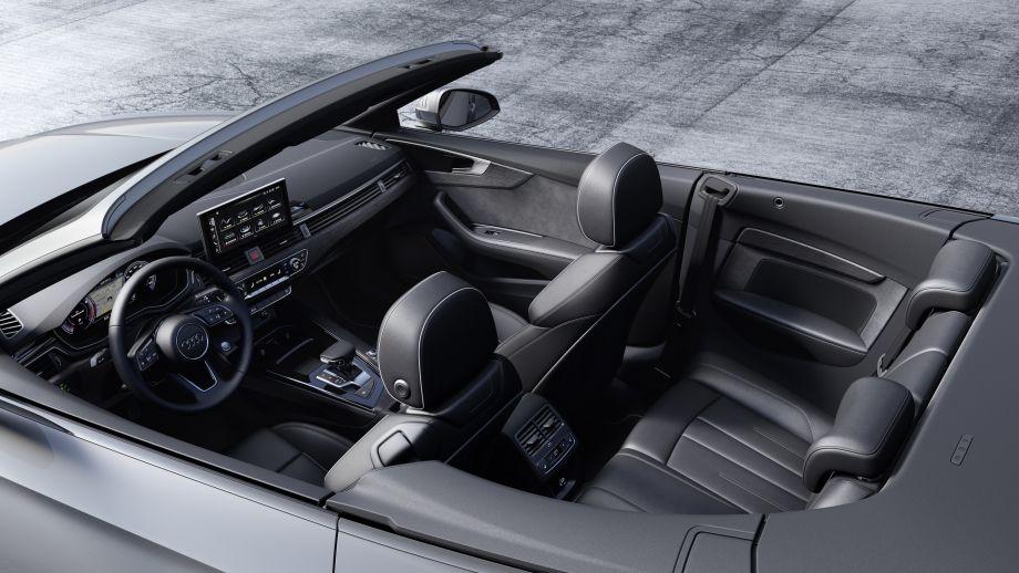Audi A5 Cabrio Sitz, Rückbank, Platz