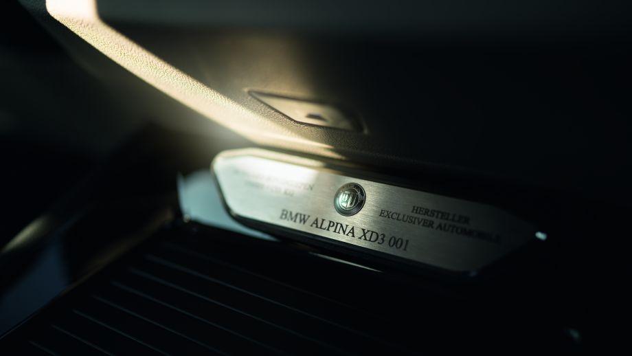 BMW ALPINA XD3 Plakette