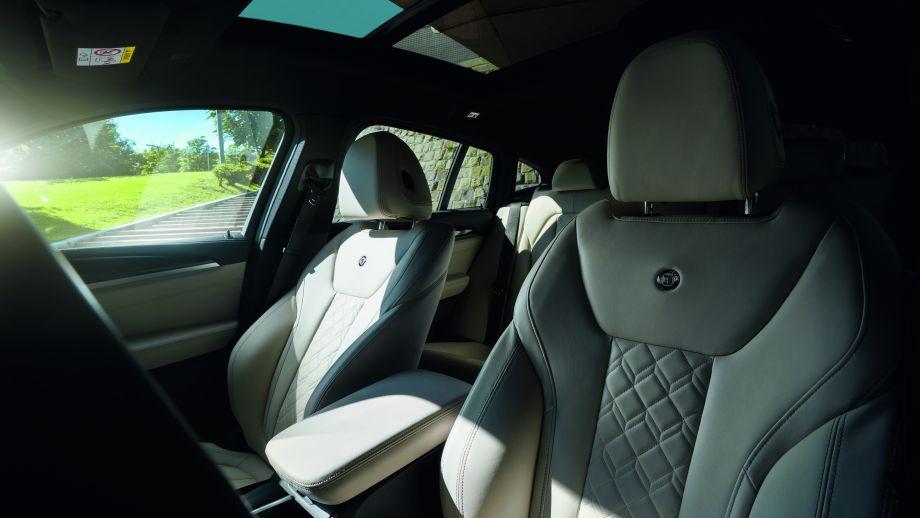 BMW ALPINA XD4 Sitze