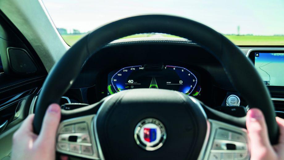 BMW ALPINA B7 Lenkrad