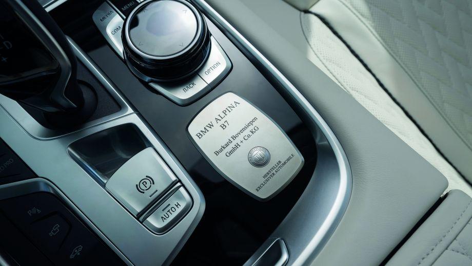 BMW ALPINA B7 Plakette