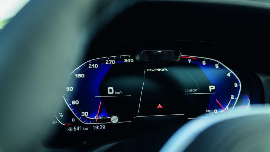BMW ALPINA B3 Limousine Tacho