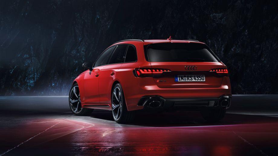 Audi RS4 Avant Diffusor, Rückleuchten, Felgen
