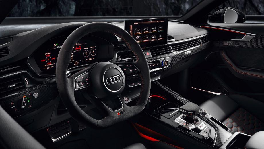 Audi RS4 Avant Cockpit, Steuerrad, Interieur, Alcantara