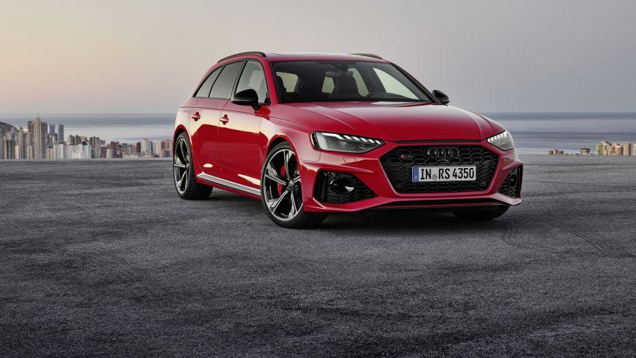 Audi RS4 Avant Grill, LED, Felgen