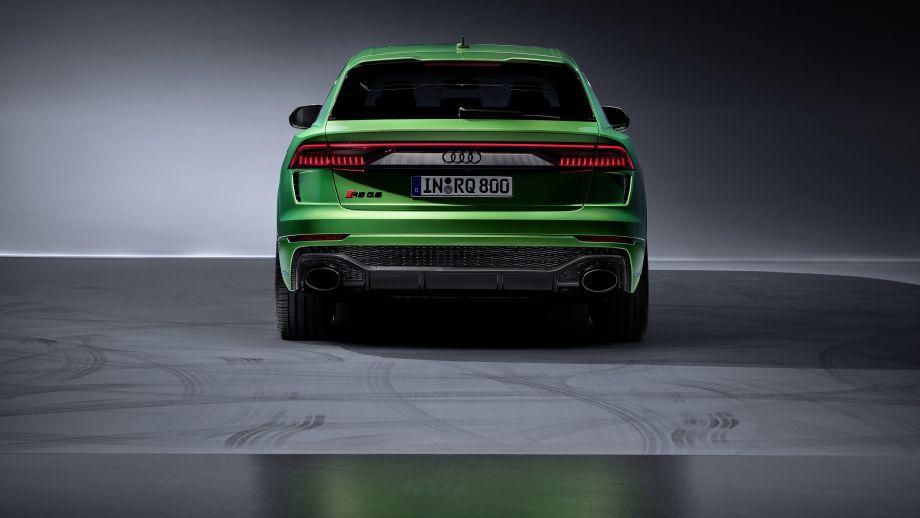 Audi RS Q8, LED, Heck, Spoiler
