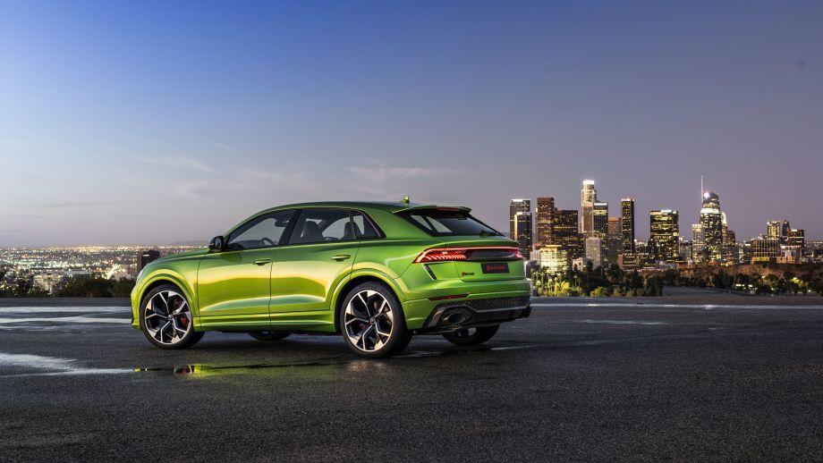 Audi RS Q8 Spoiler, LED, Felgen