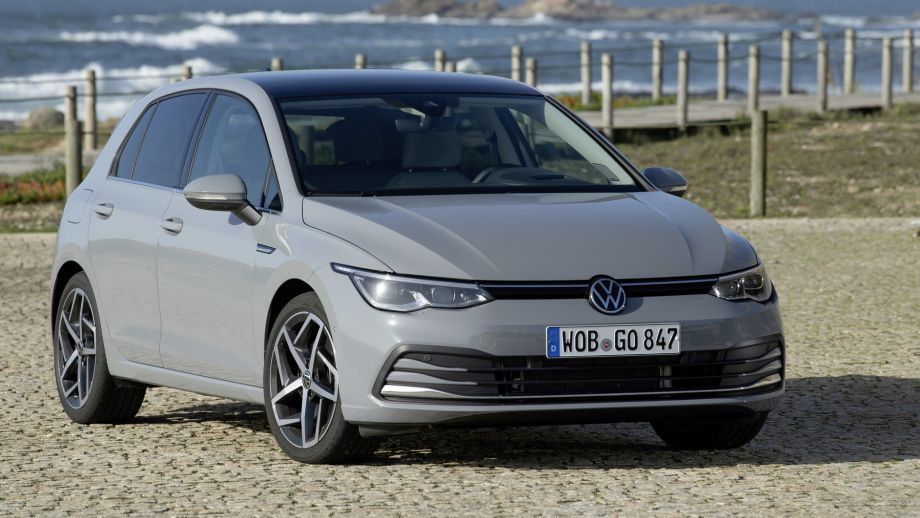 VW Golf Front