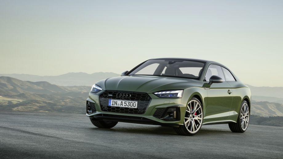 Audi A5 Coupé Grill, LED, Schürze, Schwarzes Audilogo, Felgen
