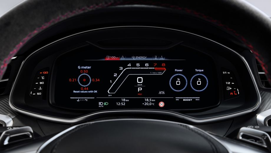 Audi RS7 Sportback Virtual Cockpit