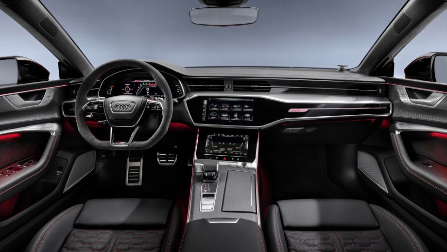 Audi RS7 Sportback Interieur, Steuerrad, Virtual cockpit, Ambiente, MMi Touch