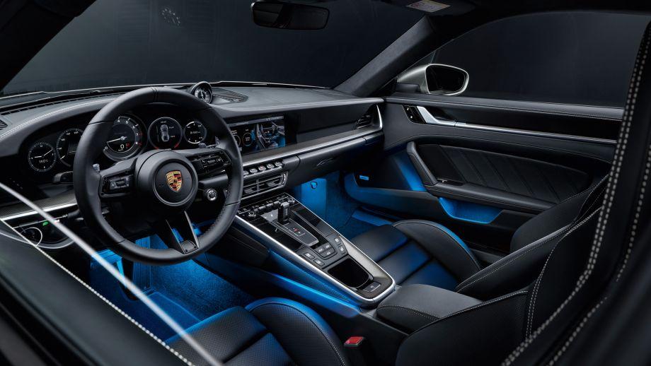 Porsche 911 Turbo S Interieur