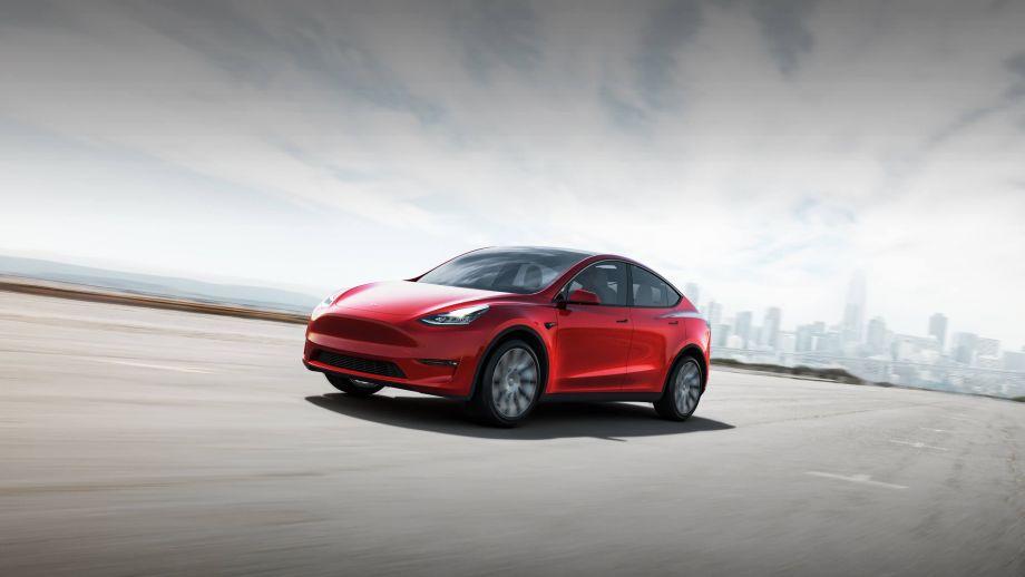 Tesla Model Y Front LED