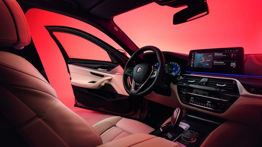 BMW ALPINA D5 S Limousine Interieur