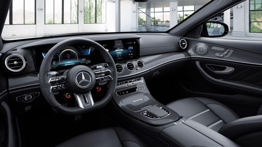 Mercedes-AMG E63 Limousine Facelift Lenkrad