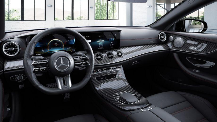 Mercedes-AMG E53 4MATIC+ Lenkrad