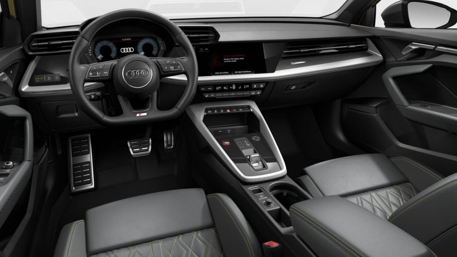 Audi S3 Sportback Interieur 2020