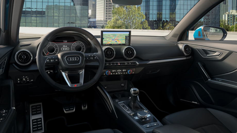 Audi Q2 Facelift Interieur
