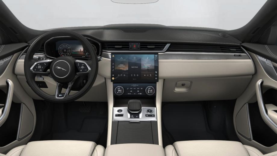 Jaguar F-Pace Facelift Display