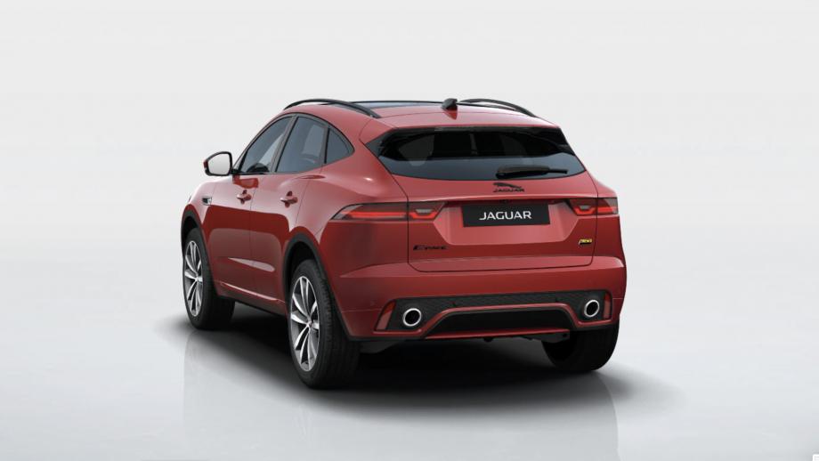 Jaguar E-Pace Facelift Heck